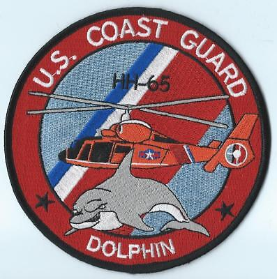 Us Coast Guard Hh-65 Dolphin Patch