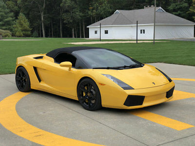 2006 Lamborghini Gallardo Spyder 520HP Amazing 2006 Lamborghini Gallardo Spyder World Class Super Car Call Now