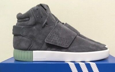 new product 794e4 8adf7 ADIDAS TUBULAR INVADER Strap Athletic Sneakers: Gray/Mint- Womens B39367 NEW