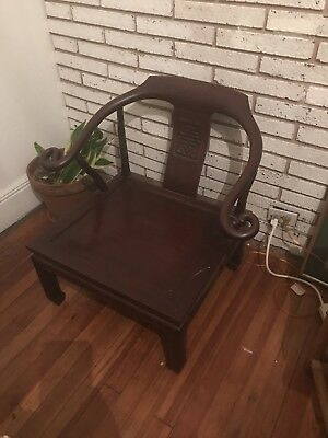 Antique Chinese Ming Chair Furniture Asian Wood Fine Quality Temple Rare Seat