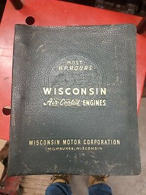 Wisconsin Engines Air Cooled VGD4 SERVICE PARTS CATALOG HEAVY DUTY MARINE LPG