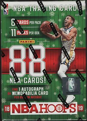 2018-19 Panini Hoops Holiday/Winter Basketball Blaster Box - Exclusive Parallels