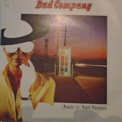 "BAD COMPANY - Rock n Roll Fantasy ~ 7"" Single PS"