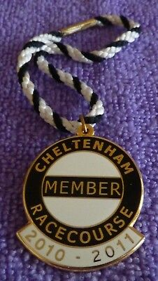 2010/2011 Cheltenham Annual member badge. ( Full Member.)