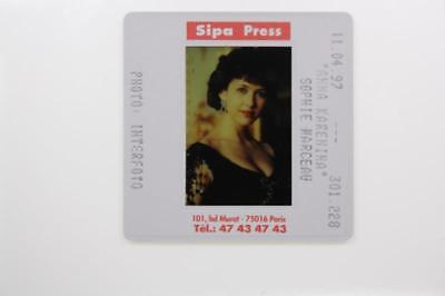 35mm Slide of Sophie Marceau a French actress.
