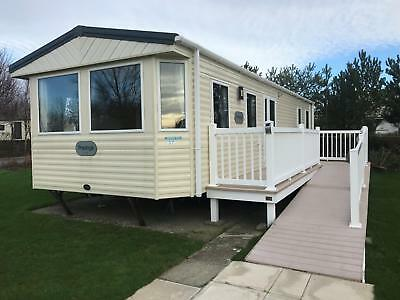 Disabled Access Adapted Static Caravan Holiday Home with parking