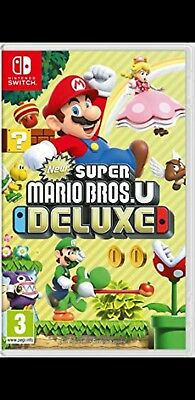 New Super Mario U deluxe Swicth (Descarga ,Download)