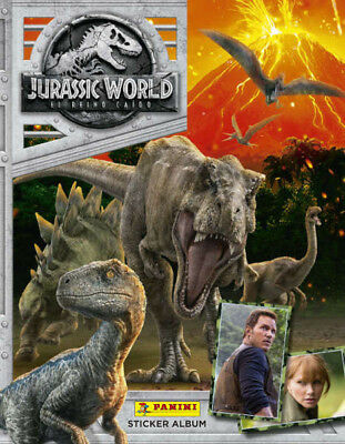 Panini Jurassic World Fallen Kingdom Stickers