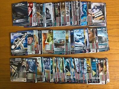 James Bond 007 Spy Cards near-set 269/275 trading card game