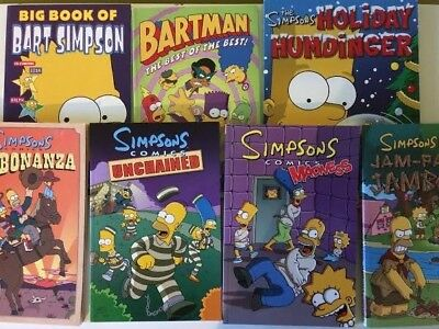The Simpsons comics collection - Great Condition - Seven Volumes
