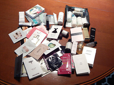 Grand lot d'echantillons neuf Sisley, Chanel, Dior, Kiehl's, l'Occitane, Cowshed