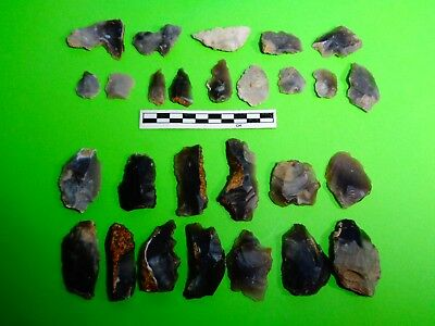 Group of Flint Tools ;recent finds from  Dorset -Look!