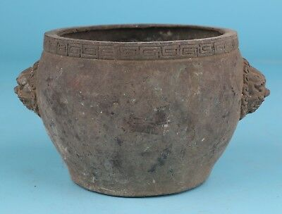 Unique Bronze Xiangding Pot Buddhist Spiritual Collection Home Decoration Gift