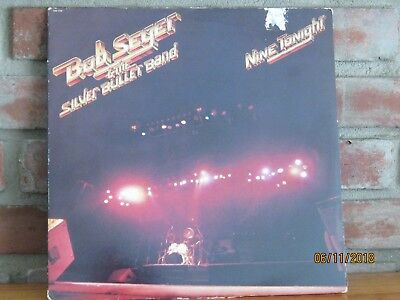 Bob Seger And The Silver Bullet Band Capitol #12182 Nine Tonight Exec Cond