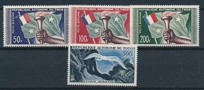[87853] Togo 1957 good set Very Fine MNH stamps