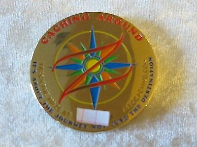 Geocaching Geocoin Trackable Caching Around- The Maze Puzzle