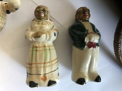 Mammy Salt And Pepper Shakers