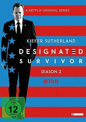 Designated Survivor - Season/Staffel 2 # # 6-DVD-BOX-NEU