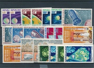 [109564] Niger good Lot very fine MNH Airmail Stamps