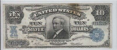 Tombstone $5 Silver Certificate Tougher Note 1908