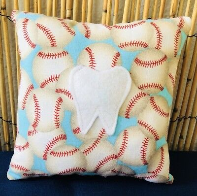 Tooth Fairy Pillow- Baseball