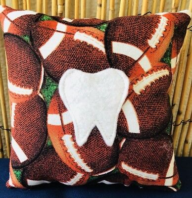 Tooth Fairy Pillow- Football