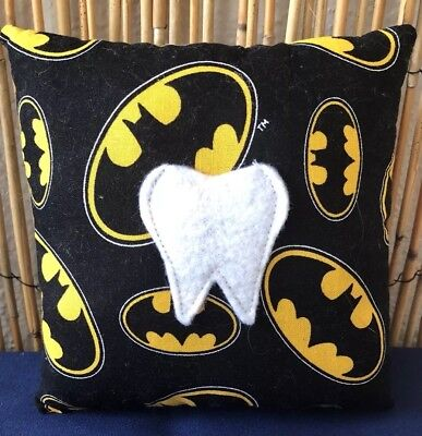 Tooth Fairy Pillow- Batman