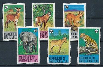 [109718] Upper Volta 1979 Fauna WWF good Set very fine MNH Stamps