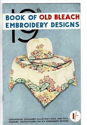 Vintage 19th Book Of Old Bleach Embroidery Designs + extras - see pictures