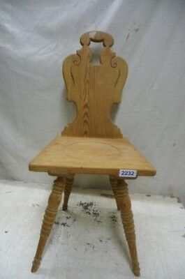 2232. Alter Barock Stuhl Old wooden chair