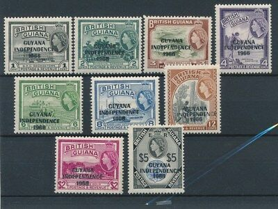 [133965] Guyana 1966 good set of stamps very fine MNH