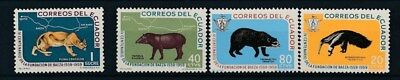 [134024] Ecuador Fauna good set of stamps very fine MNH
