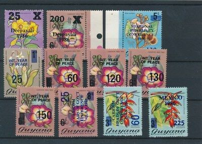 [134075] Guyana  good lot of stamps very fine MNH