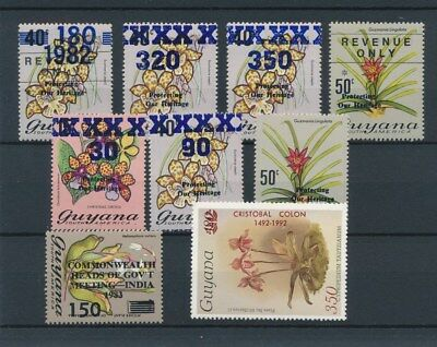[134078] Guyana  good lot of stamps very fine MNH