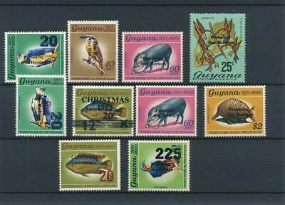 [134080] Guyana  good lot of stamps very fine MNH