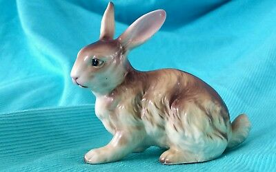 Vintage Ucagco Ceramics Japan Rabbit Bunny Figurine Easter * Very Nice
