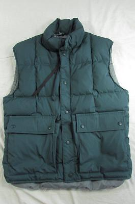 Vtg Mint 80s USA Made Eddie Bauer Goose Down Quilted Vest Mens Sz M Puffer RARE