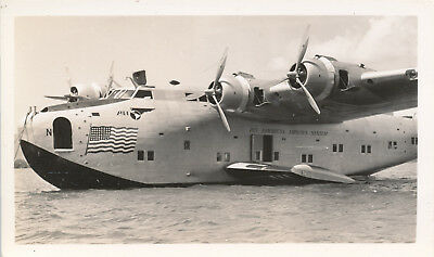 1930s Pan Am Clipper airplane Hawaii photo No ?