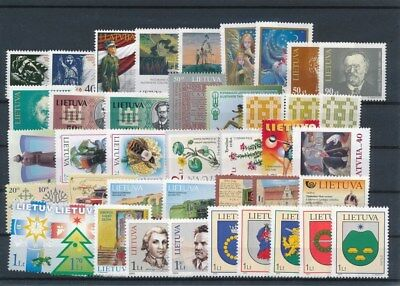 [G117647] Lithuania good Lot very fine MNH Stamps