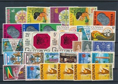 [G126016] Guyana good lot of stamps very fine MNH