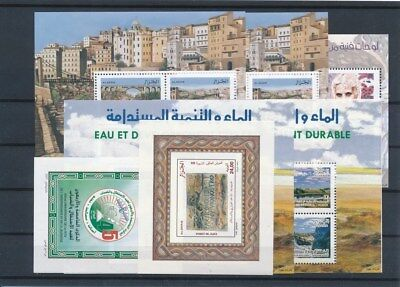 [G126183] Algeria good lot of 7 sheets very fine MNH