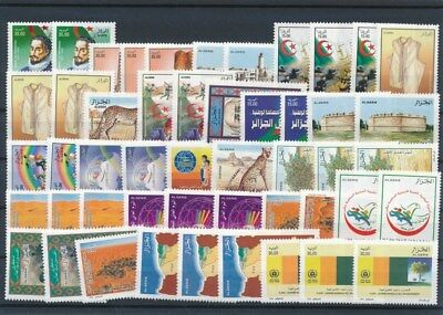 [G126191] Algeria good lot of stamps very fine MNH