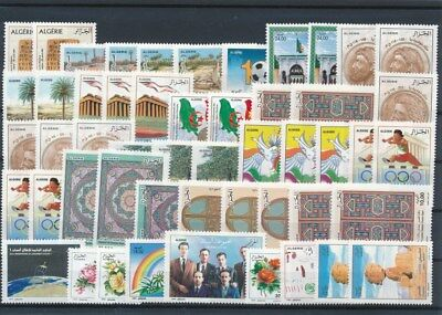 [G126193] Algeria good lot of stamps very fine MNH