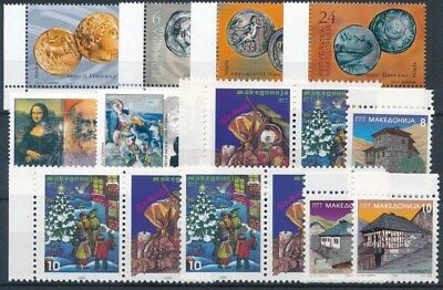 [16914] Macedonia : Good Lot of Very Fine MNH Stamps