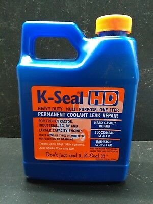 Permanent Coolant Leak Repair for Larger Engines with K-Seal HD K5516