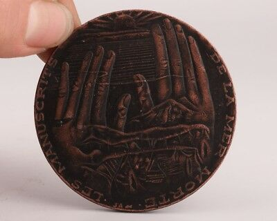 Precious China Copper Commemorative Badge Commemorate Collection Gift