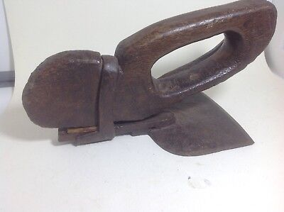 Old stirrup adze hand adze tool old woodworking tool antique vintage tool