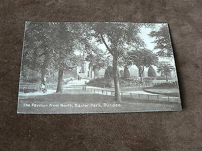Old Photo Postcard, The Pavillion from North, Baxter Park, Dundee