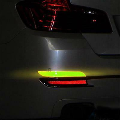 Reflective Tape Truck Car Motorcycle Sticker Safety Warning Strip Film Y2