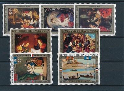 [37981] Upper Volta Art Paintings Good lot Very Fine MNH stamps